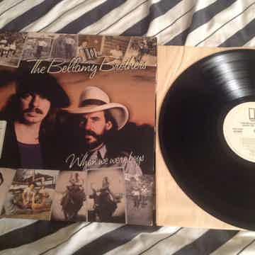 The Bellamy Brothers  When We Were Boys White Label Pro...
