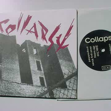Collapse 7 inch ep record Don Fury 1989  - live at Pyra...