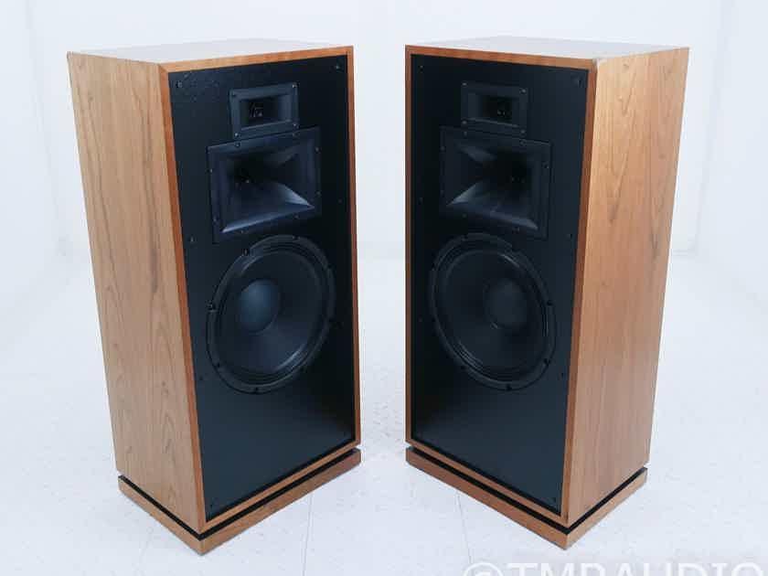 Klipsch Forte III Floorstanding Speakers; Natural Cherry Pair; Forte 3 (17234)