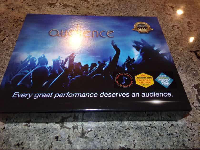 Audience AU24-SX 2 meter Speaker  Gold Spades