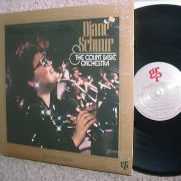 Diane Schuur & the count Basie orchestra digital master lp record SHRINK GRP SEE ADD