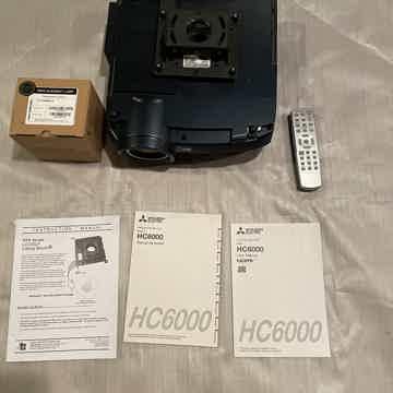 Mitsubishi HC 6000 Projector  HC 6000