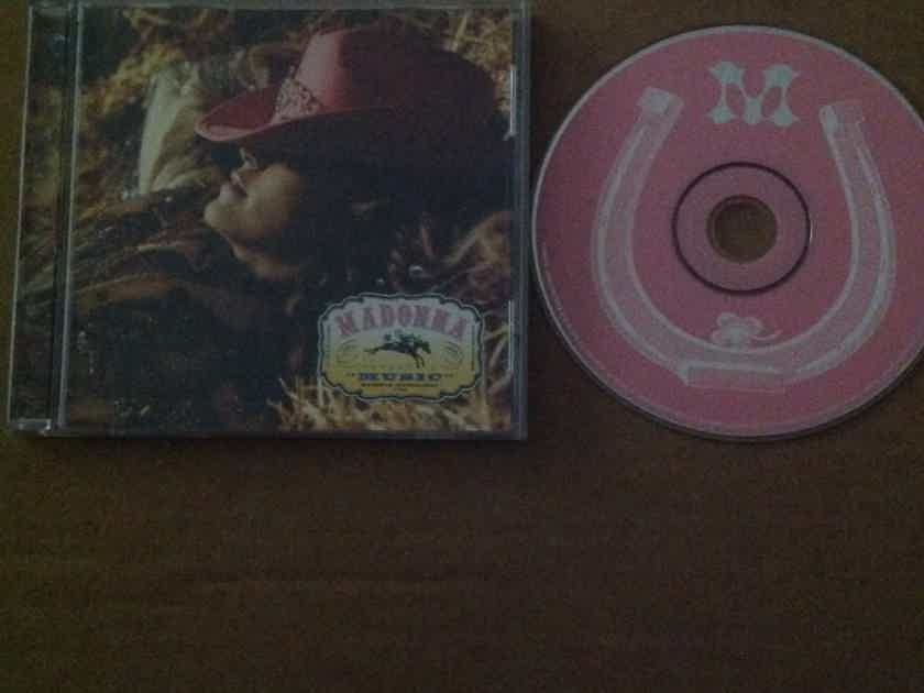 Madonna - Music Maverick Records CD Single With Non LP Track Cyberraga