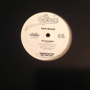 New Musik Straight Lines Promo 12 Inch Special Version