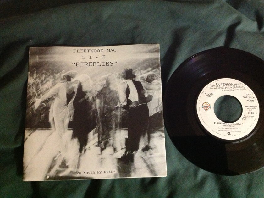 Fleetwood Mac - Fireflies(Remix-Edit) Promo 45 With Sleeve