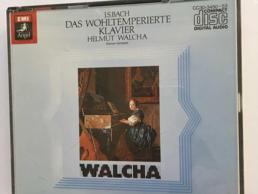 JS Bach Helmet Walcha  Das Wohltemperierte Cd set EMI Angel Japan