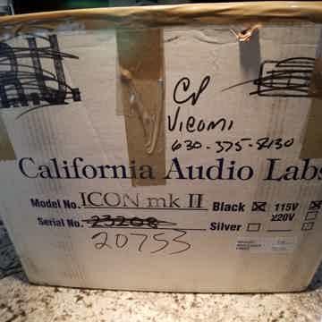 California Audio Labs Icon mkII