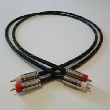Schmitt Custom Audio Cables Gold Telllurium Copper RCA IC's