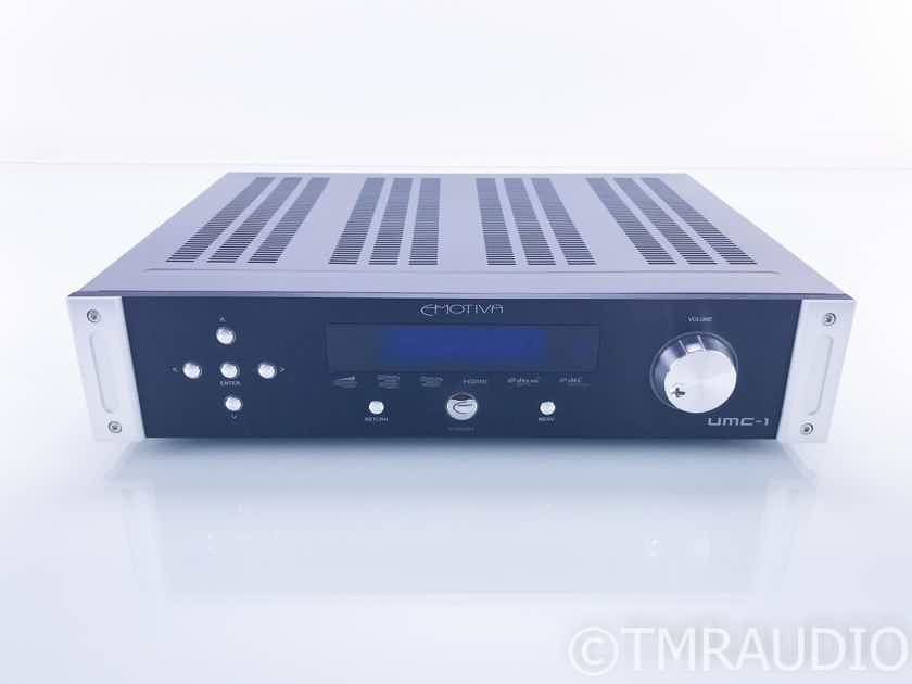 Emotiva UMC-1 7.1 Channel Home Theater Preamplifier; AS-IS (No Main Zone Output) (17117)