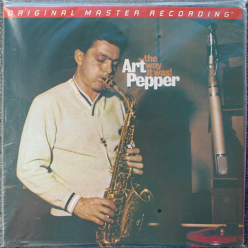 Art Pepper  The Way it Was - MFSL New/Sealed LP - MFSL ...