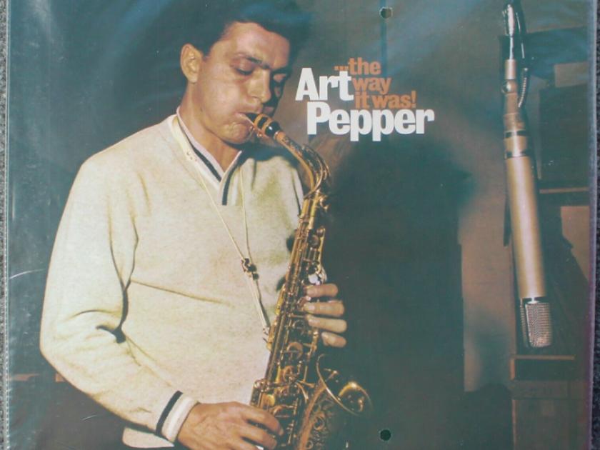 Art Pepper  The Way it Was - MFSL New/Sealed LP - MFSL 1-297