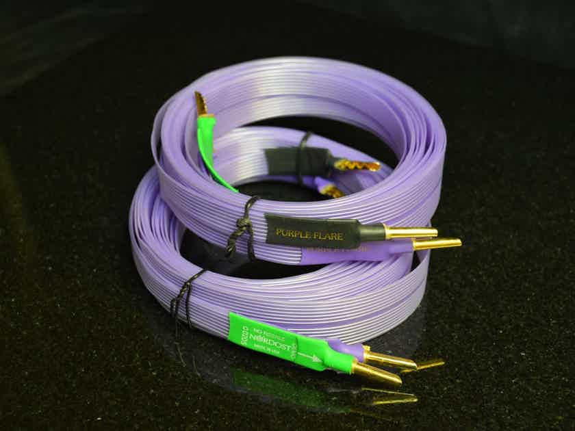 Nordost Purple Flare - Flatline Speaker Cable - 14'/pair