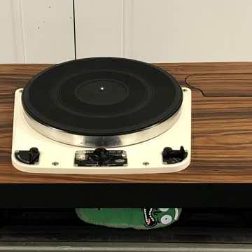 Garrard 301 with Custom Slate Plinth