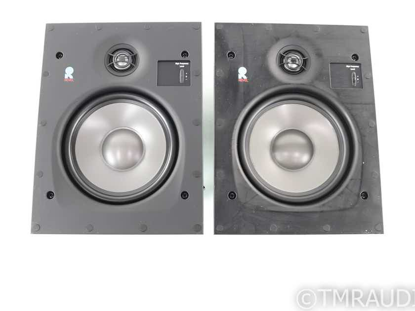 Revel W563 In-Wall Speakers; Pair; White Grills (27981)