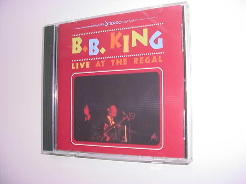 BB King cd - live at the Regal 1997 MCA