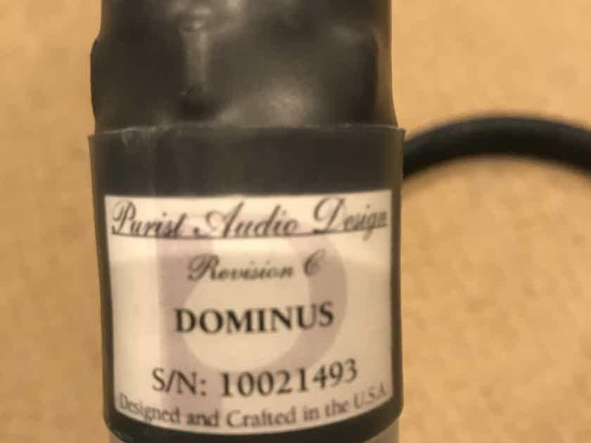 Purist audio Dominus rev. C 1.5m rca/rca digital