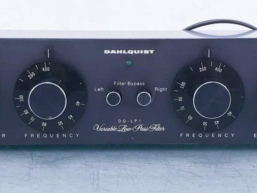 Dahlquist DQ-LP1 Vintage Low Pass Crossover New Op-Amps (15062)