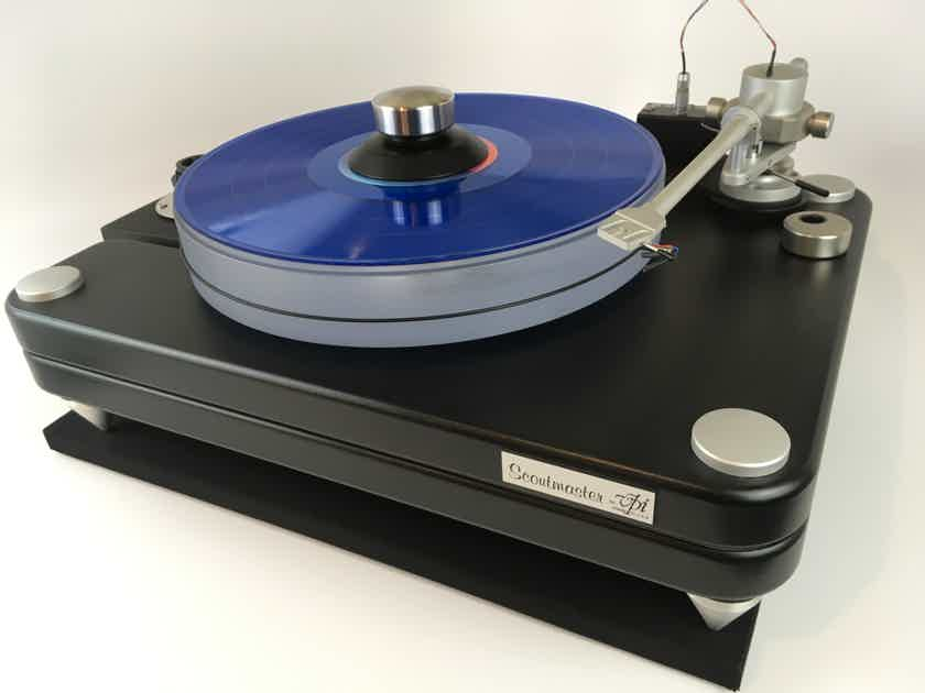 VPI Industries Scoutmaster Turntable, Made in the USA. 120V or 220V