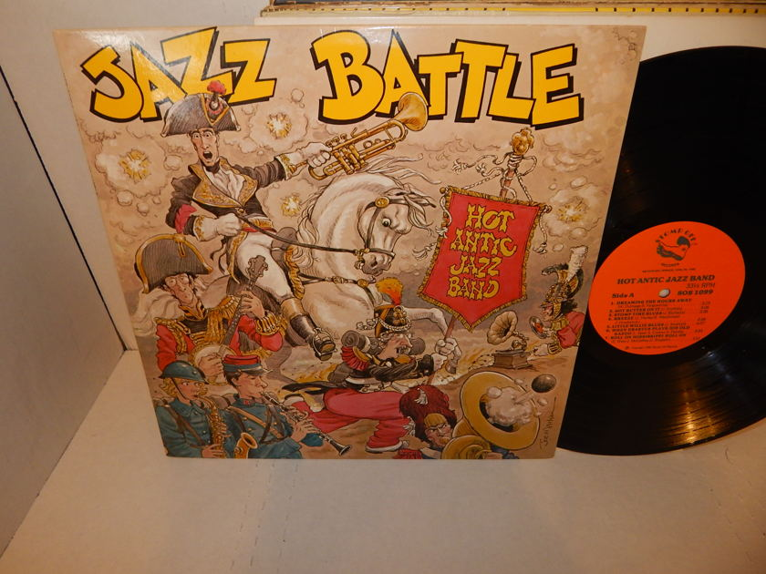 HOT ANTIC JAZZ BAND - Jazz Battle Stomp Off Records LP