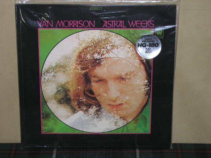 Van Morrison - Astral Weeks 180g SEALED Warner/RTI