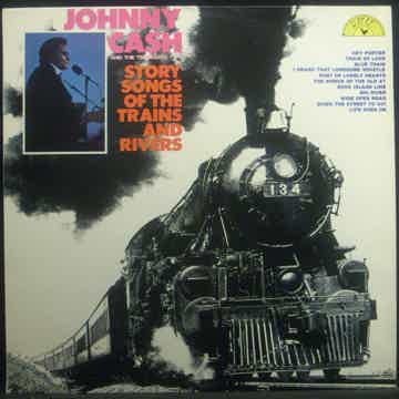 Johnny Cash Story Songs of the Trains and Riverts