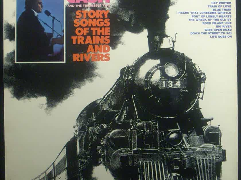 Johnny Cash - Story Songs of the Trains and Riverts 180 gram vinyl