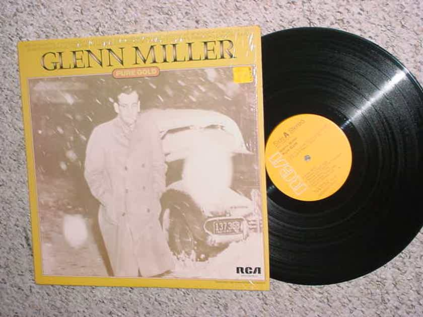 BIG BAND JAZZ Glenn Miller pure gold lp record in shrink RCA 1975