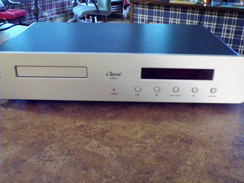 Classe Audio CDP.5 HDCD