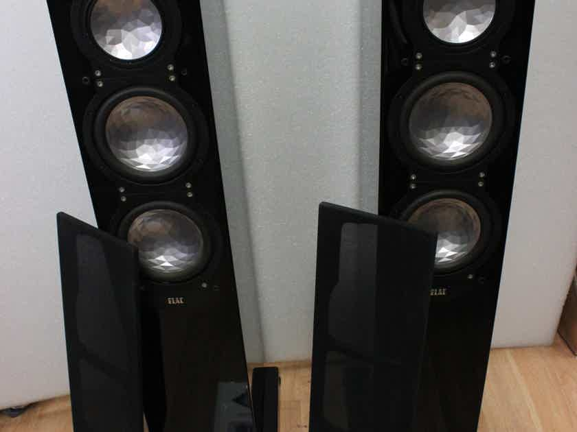 Elac FS249 Loudspeakers with JET Tweeters in Excellent Condition