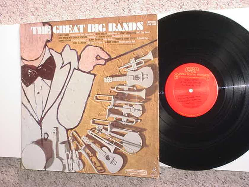 The great big bands lp record - in shrink Columbia stereo css 1506 Harry James Dorsey Lunsford Goodman McCoy Woody more