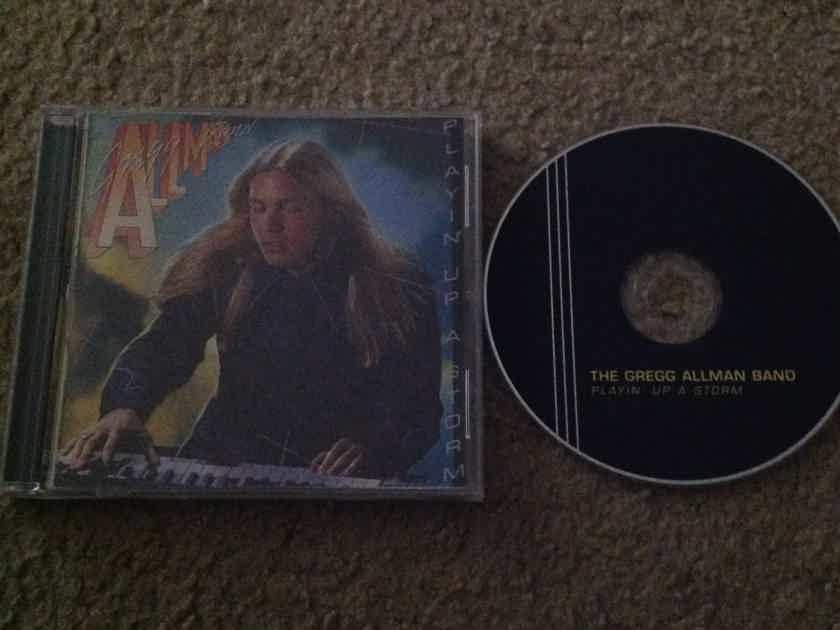 The Gregg Allman Band - Playin Up A Storm Polydor Records Compact Disc