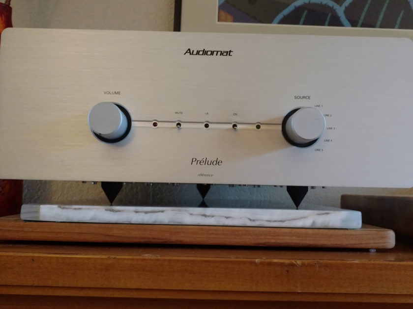 Audiomat Prelude Reference EL-34 integrated tube amp with remote