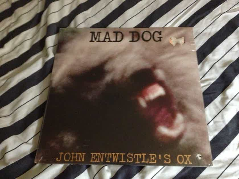 John Entwistle(The Who) - Mad Dog Track Records Label Sealed Vinyl  LP
