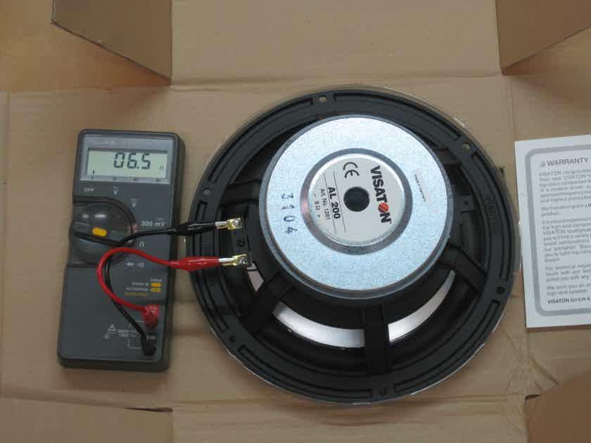 Visaton Speaker Matching pair AL 200 Germany