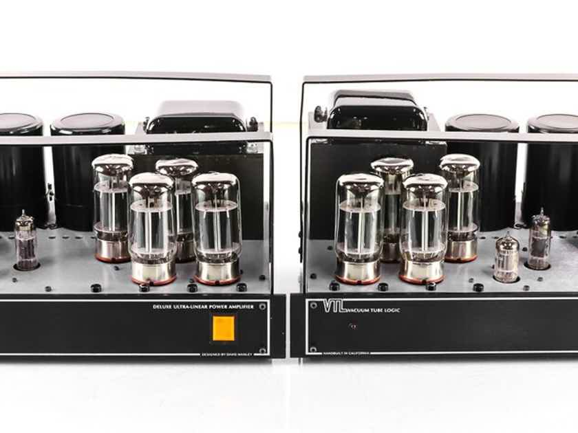 VTL De Luxe 300 Mono Tube Power Amplifier; Pair; Deluxe (Factory Serviced) (27564)