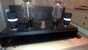 Audio Horizons 300B power amplifier face view