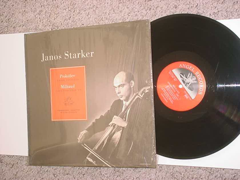 CLASSICAL CELLO Janos Starker - Prokofiev cello concerto Milhaud cello concerto 1 Walter Susskind Angel 35418 shrink SEE ADD