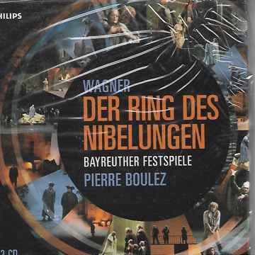 Wagner: Ring  - Boulez Philips 12 CD