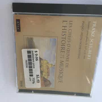 Franz Schubert Heino Schwarting piano Sonatas pour piano D sealed new cd