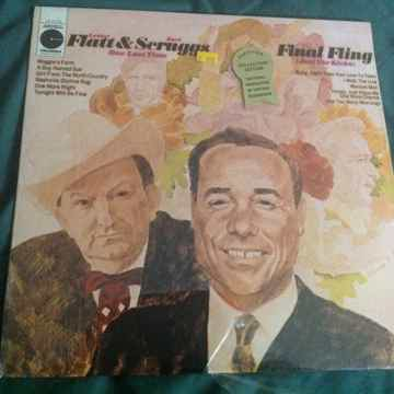 Flatt & Scruggs - Final Fling Sealed Vinyl  LP Columbia...