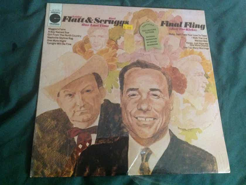 Flatt & Scruggs - Final Fling Sealed Vinyl  LP Columbia Special Products Records Label