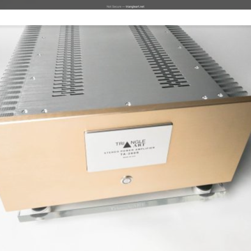 TriangleArt TA-260S Amplifier Excellent amp Dealer show...