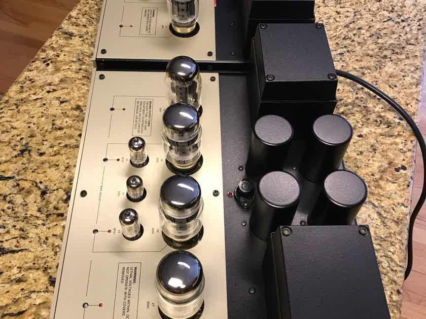"""Conrad Johnson Premier 12 Monoblocks w/  C1 Teflon Updated -SUPERB Condition - """"consecutive SN's"""""""