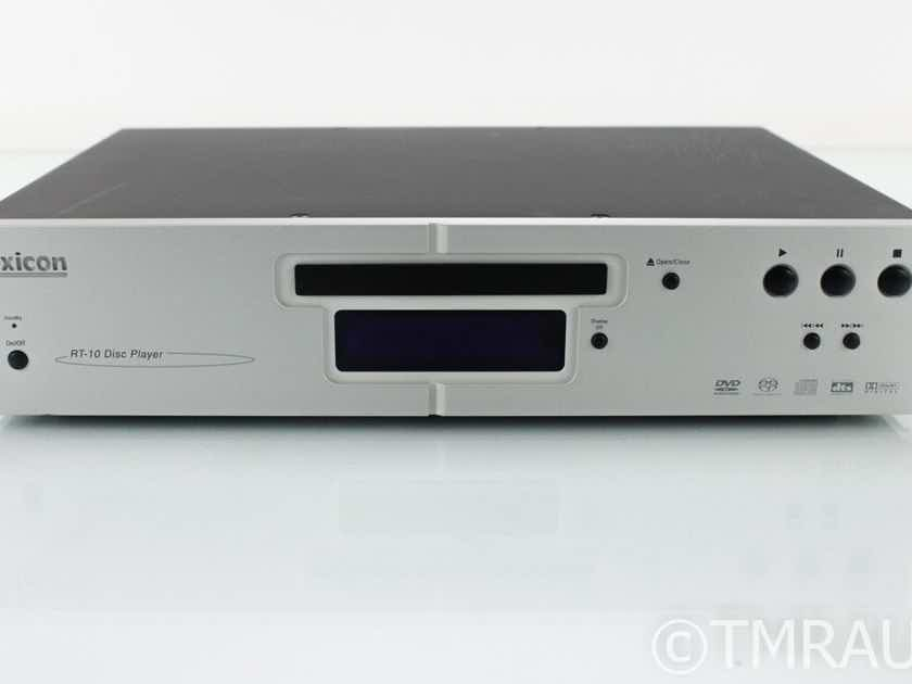 Lexicon RT-10 CD / SACD / DVD Player; Remote; AS-IS (No Power) (18606)