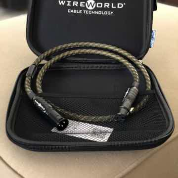 Wireworld Gold Eclipse 8 XLR single 3ft - New