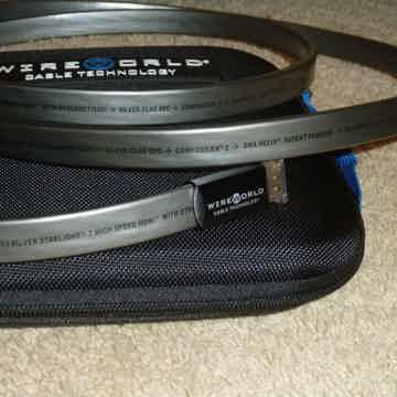 2MeterWire World Silver Starlight Refece HDMI -  Brand New