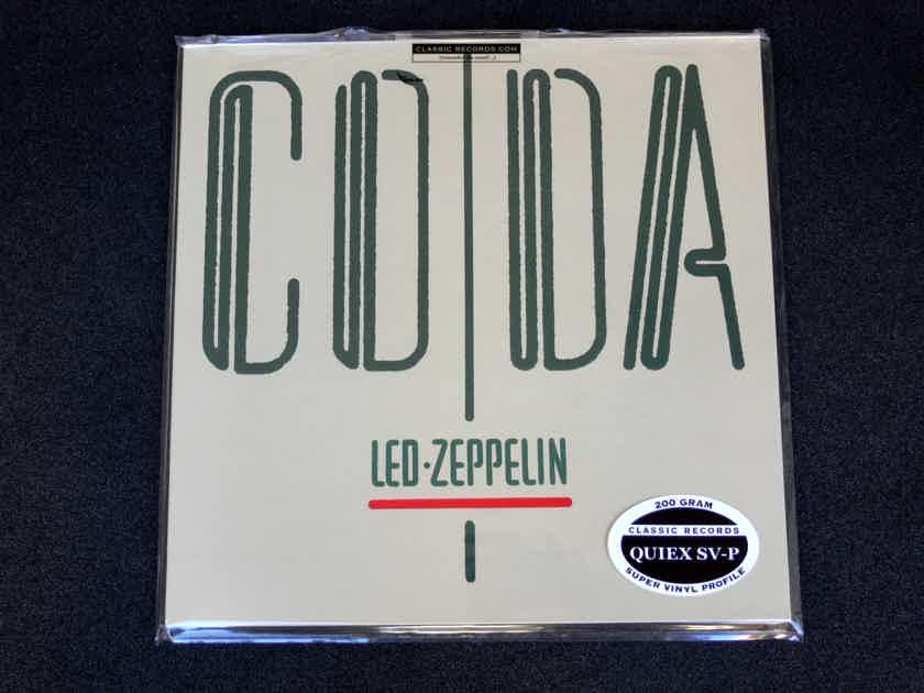 Classic Records LP Led Zeppelin - Coda ** SEALED **   200 Gram