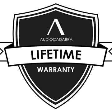 Audiocadabra Xtrimus4™ Solid-Silver SuperQuiet™ RCA Cables