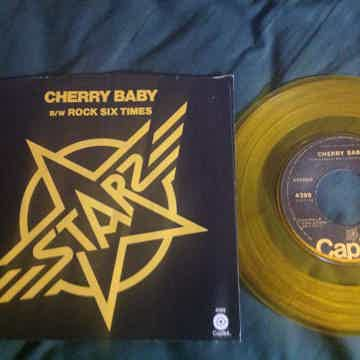Starz - Cherry Baby/Rock Six Times Capitol Records Gold...