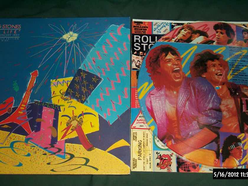 Rolling Stones -  Still Life Rare Picture Disc